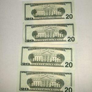 realistic fake 20 dollar bills,